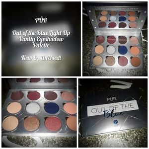 PÜR Out Of Blue Light Up Vanity Eyeshadow Palette!